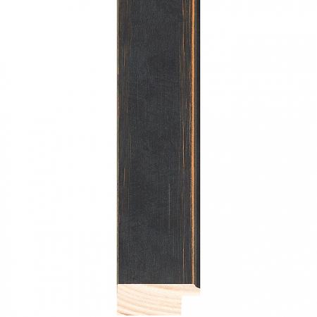 Black wood picture frame 279