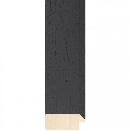 Black wood picture frame 422