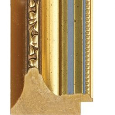 Gold polymer picture frame spot louie 16