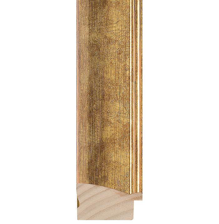 gold wood picture frame 228 midland fine framing. Black Bedroom Furniture Sets. Home Design Ideas