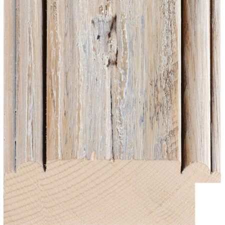 White wood picture frame driftwood minn07
