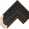 Black wood picture frame-corner-756287