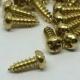 brass-pan head-10mm screws-