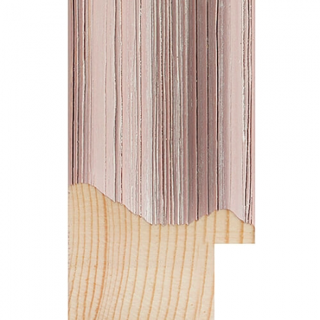 coloured wood pastel pink washed wood picture frame